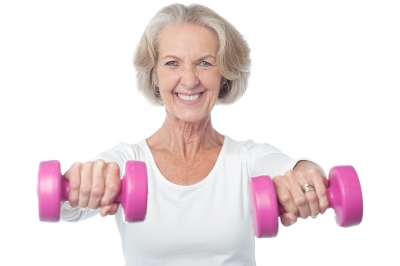 Senior Fitness and Health. Photo courtesy of stockimages