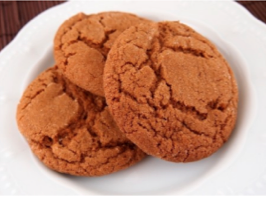 Big soft ginger cookies from Vista Prairie Communities