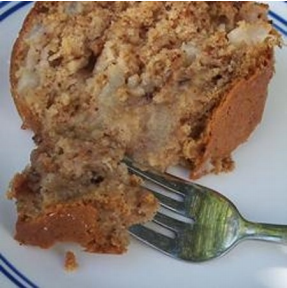 Pear Cake from Vista Prairie Communities