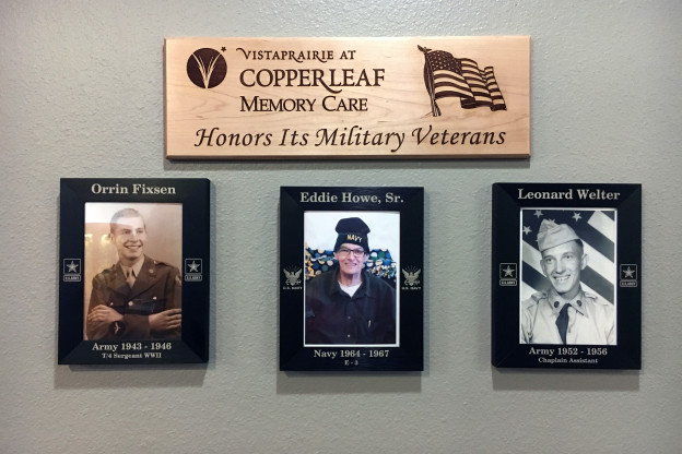 Copperleaf Honors Veterans Year-Round With Veterans Wall